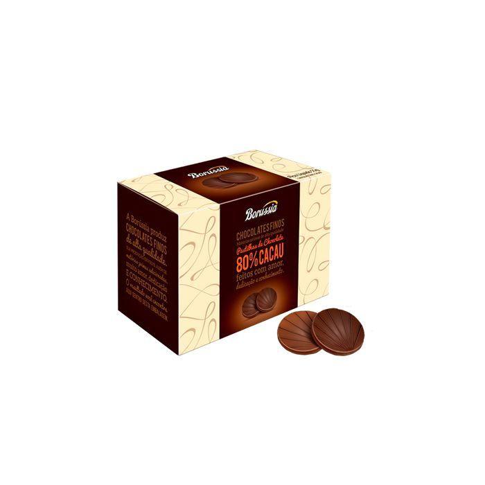 PASTILHA DE CHOCOLATE 80% CACAU BORUSSIA