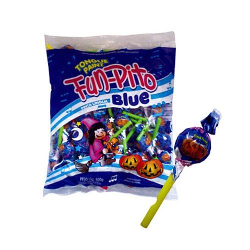Pirulito Fun-Pito Pinta Língua Confirma 500g - Média de 50un por pacote
