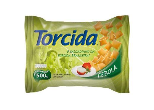 SALGADINHO TORCIDA SABOR CEBOLA 450g