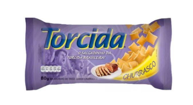 SALGADINHO TORCIDA SABOR CHURRASCO 3 UNIDADES DE 70g