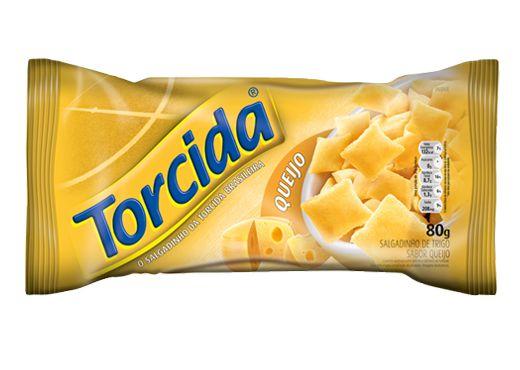SALGADINHO TORCIDA SABOR QUEIJO 3 UNIDADES DE 70g