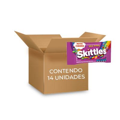Skittles Wild Berry 38g contendo 14 pacotes