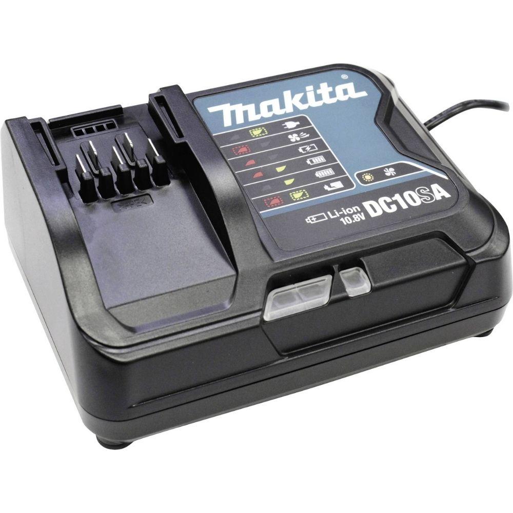 MARTELETE ROTATIVO ROMPEDOR A BATERIA 12V MAX (2 BAT.+CARREG.+MALET.)(MAKITA)