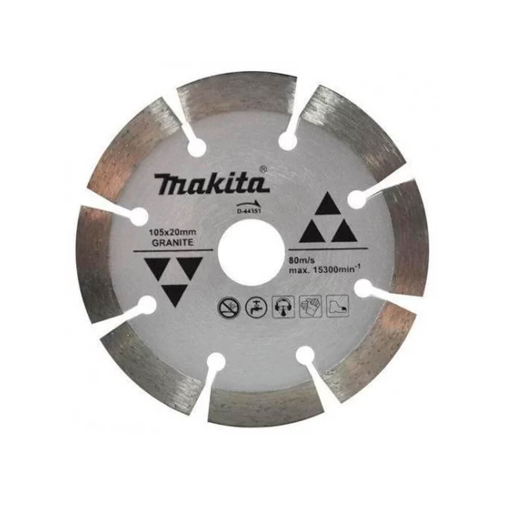REBOLO DIAMANTADO 105X10X20MM PARA GRANITO (MAKITA)