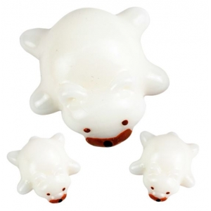 Bichinhos família divertida Fofinho 3 peças Urso Polar