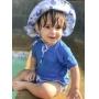 BLUSA DE PROTEÇÃO INFANTIL FPS50 MANGA LONGA AZUL