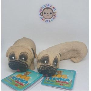 Cachorro Dog estica Divertido Bege Bulldog - Fidget Toys