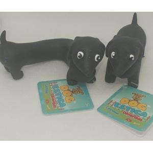 Cachorro Dog estica Divertido Preto - Fidget Toys