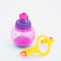 Copo Infantil Antivazamento com Canudo e Alças Pink