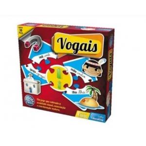 Jogo Vogais 30 peças - Pais  & Filhos
