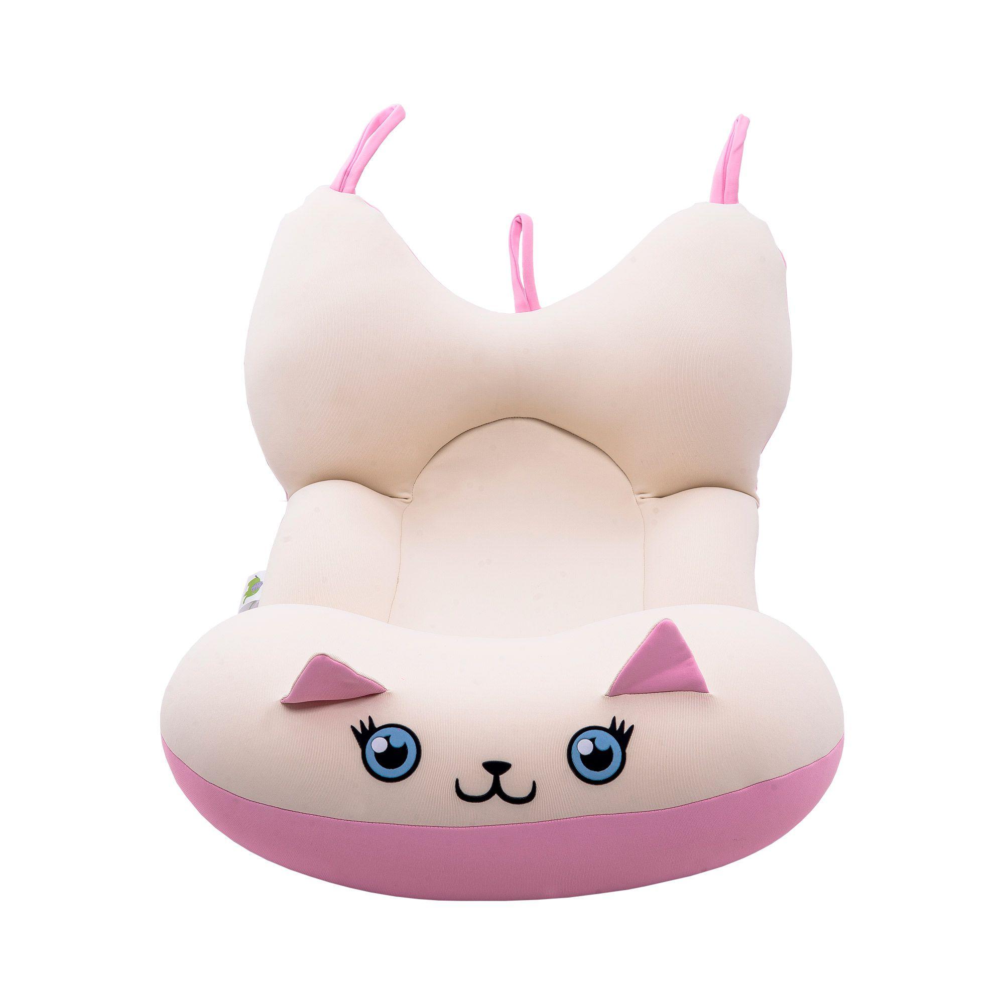 Almofada Para Banho Bichinhos - Gato