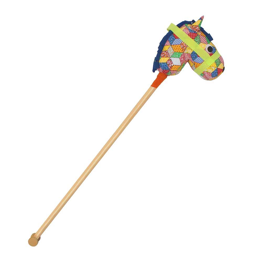 Brinquedo Cavalinho de Pau Papo de Pano