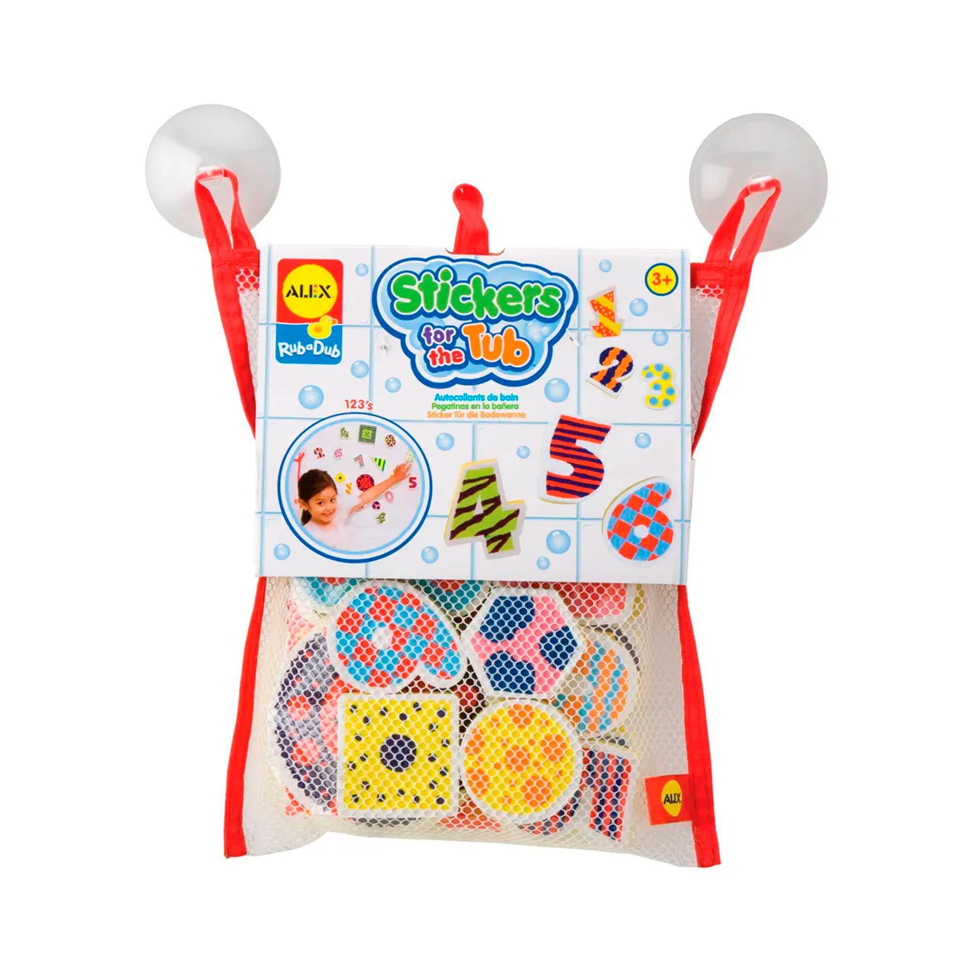 Brinquedos Para Banheira Números - Formas - Bath Scene Number - Shapes