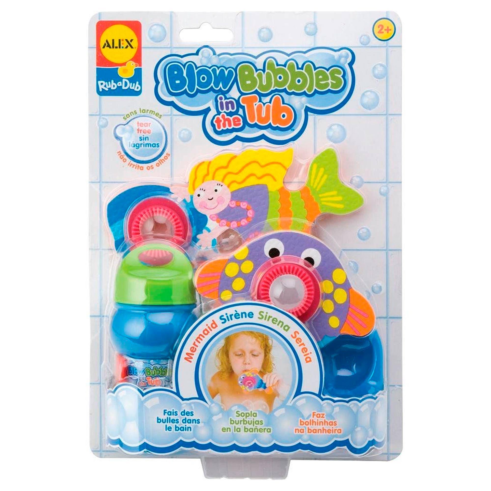 Brinquedos Para Banheira Sereia - Blow Bubles In The Tub Sereia