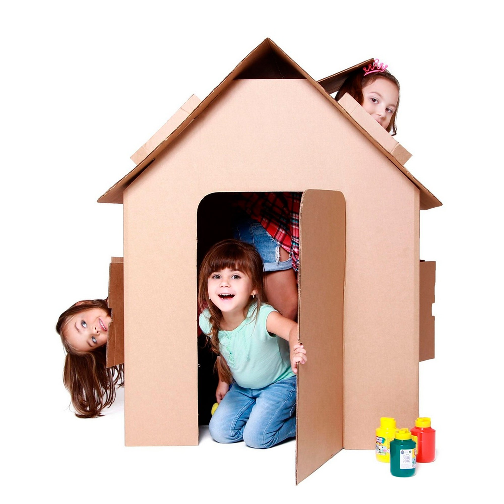 Casa de Papelão - Brinquedos Gigantes