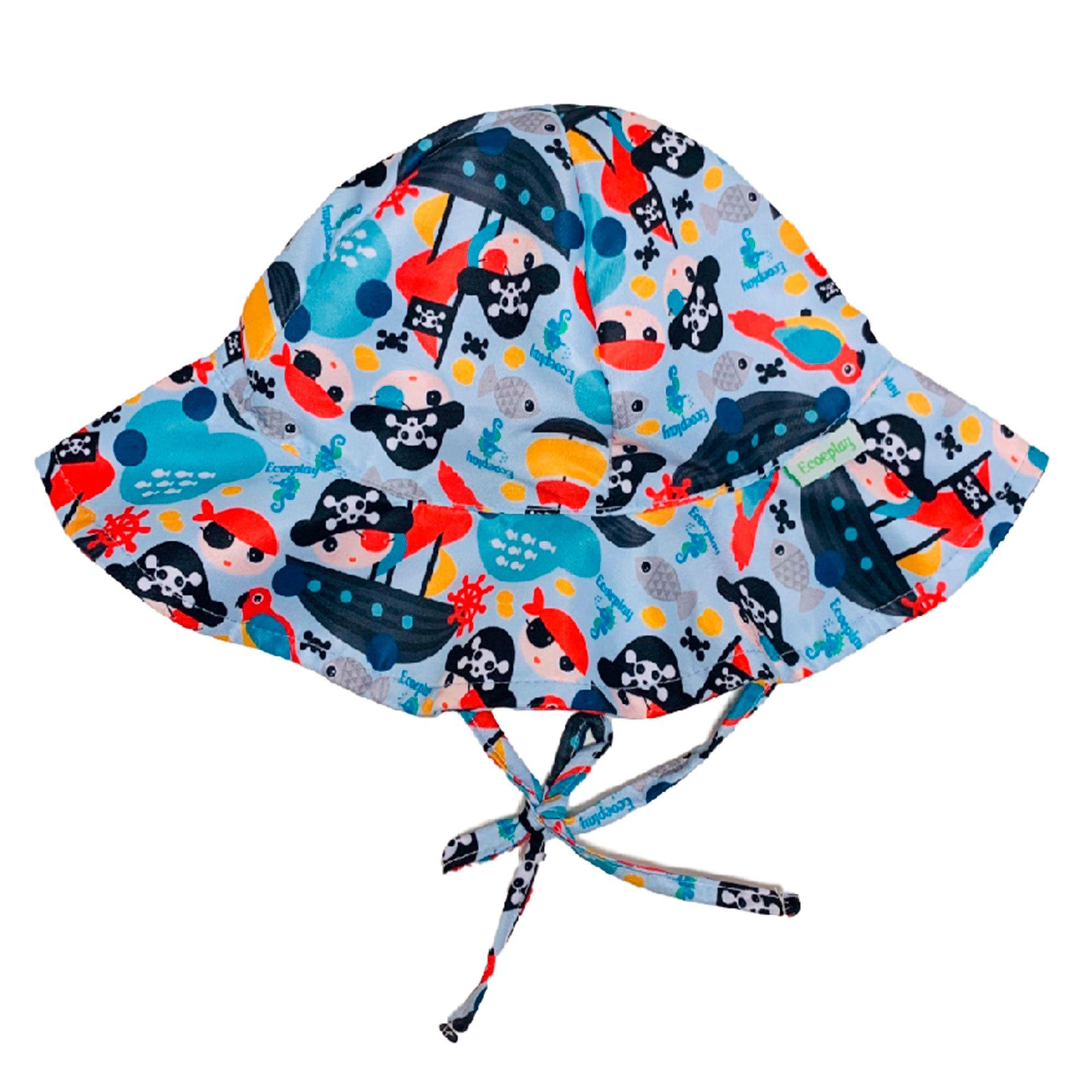 Ecoeplay - Chapéu de Praia - Piratinha - Tamanho G