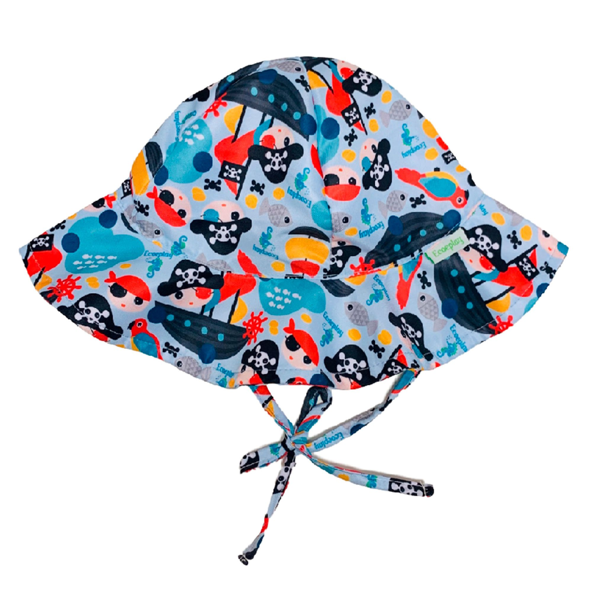 Ecoeplay - Chapéu de Praia - Piratinha - Tamanho M