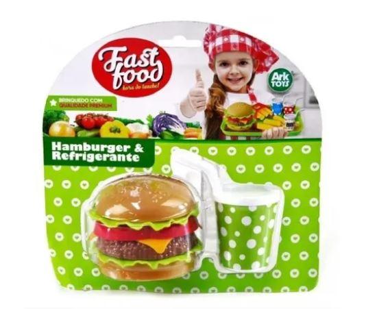 Hambúrger & Refrigerante - Ark toys