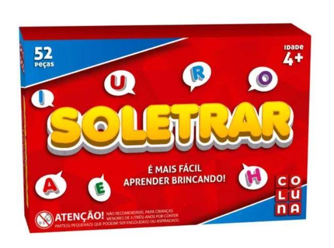 Jogo Soletrar - 52 peças