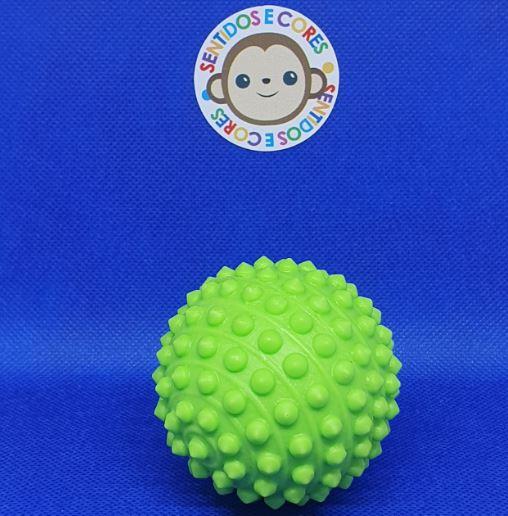 Mini Bola de Vinil & Cravos - Verde Anti Stress