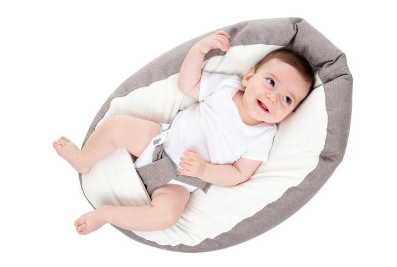 Puff Ninho Vira Sofázinho com Cinto de Segurança BabyPill