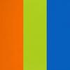 Laranja, Azul e Limão