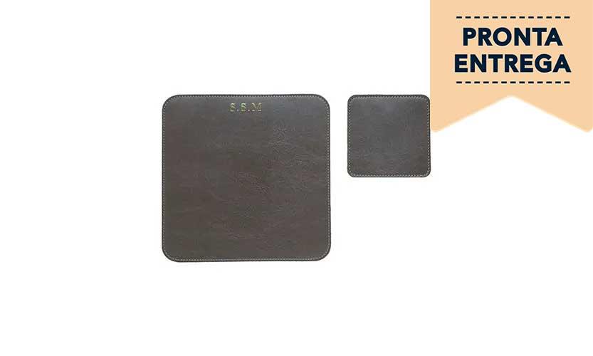 Mouse Pad e Porta Copos - Pronta Entrega