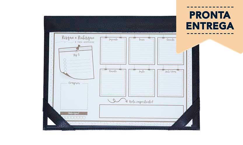Planner de Mesa A4 - Pronta Entrega