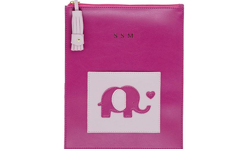 Porta Documentos Infantil Elefante
