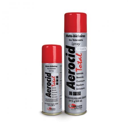Aerocid Prata Spray Mata-bicheira