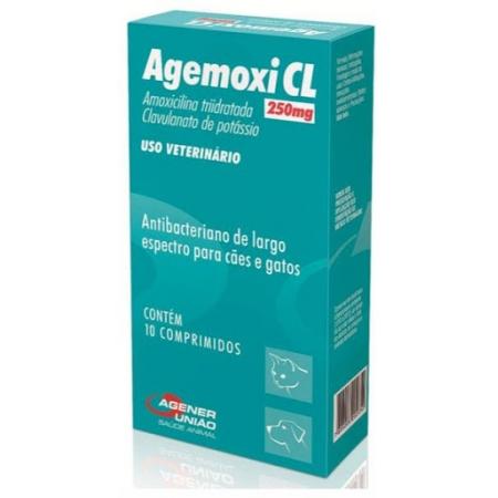 Agemoxi CL 250mg - 10 comp