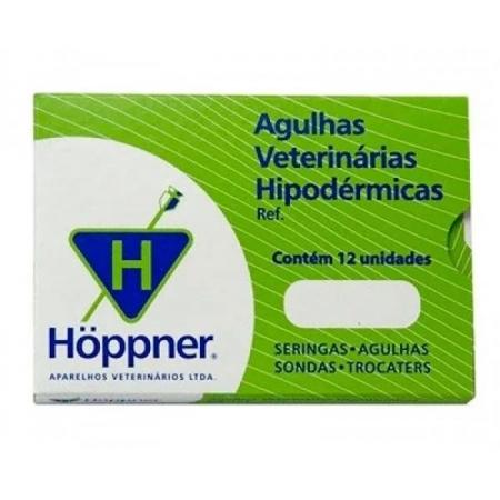 Agulha Hipodérmica Hoppner -  1 unidade  08x08