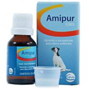 Amipur carrapaticida e sarnicida para Cães - 20ml