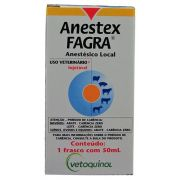 Anestésico veterinario Anestex Fagra - 50ml