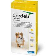 Antipulgas Credeli - 1,3 a 2,5 Kg - 3 comprimidos