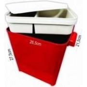 Caixa para Armazenar Ração Com Comedouro - 4,5kg