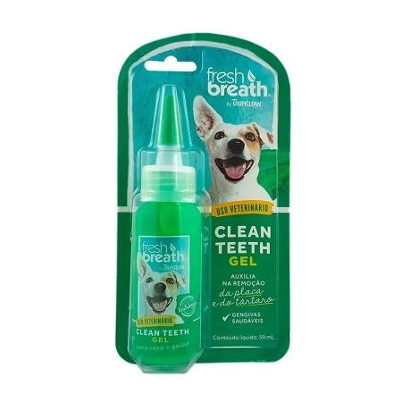 Clean Teeth gel bucal para cães e gatos - 59mL