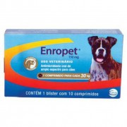 Enropet 150mg - Cx. com 10 comprimidos