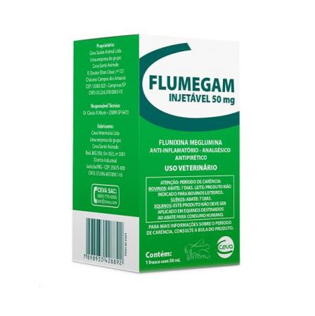 Flumegam inj - 50 mg