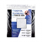 Tela para ralo de fibra de vidro - kit com 10 unidades