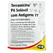 Terramicina Pó Soluvel Com Antigerm 77 - 100g
