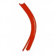Tubo de Fluxo (Silicone) para bebedouro Pendular - Kit de 4 un de 25cm cada