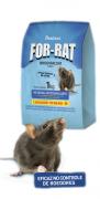 Veneno para Ratos For-Rat Grãos - 1kg