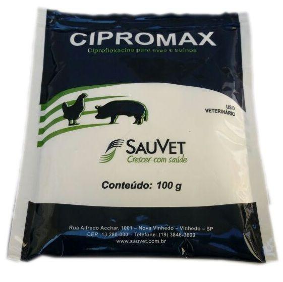 Antibiótico para Aves e Suínos - Cipromax Sachê