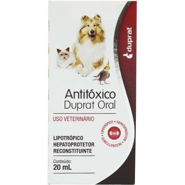 Antitóxico Oral Duprat - 20 ml
