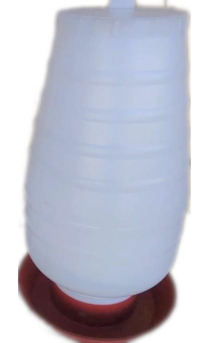 Bebedouro Plástico Transparente Rosca