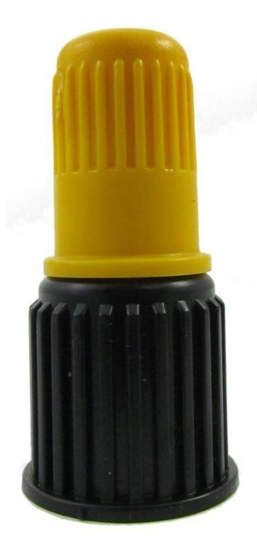 Bico Cone Regulável Amarelo P-5