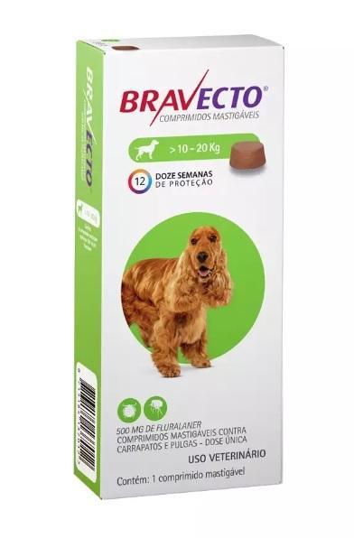 Bravecto - 10kg a 20kg