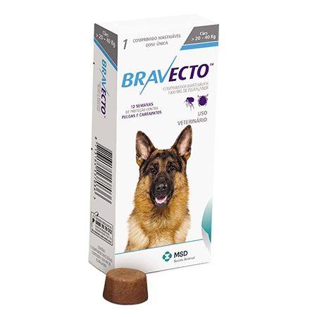 Bravecto - 20kg a 40kg
