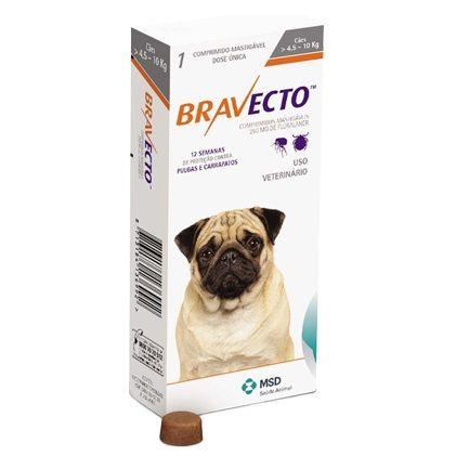 Bravecto - 4,5kg a 10kg